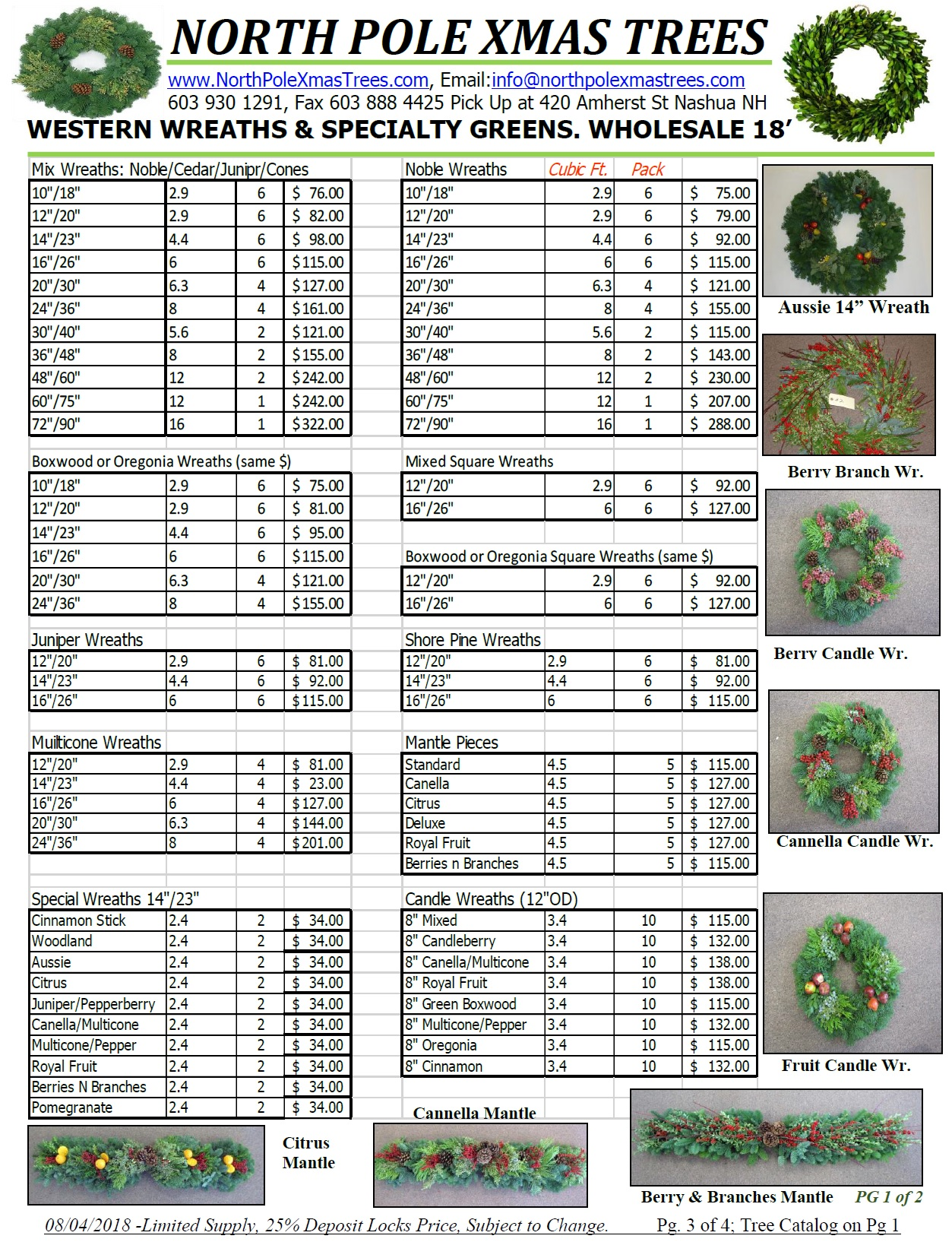 Wholesale Noble and Westerern Wreaths
